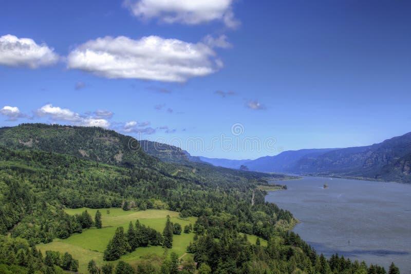 Desfiladeiro do rio de Colômbia fotografia de stock royalty free