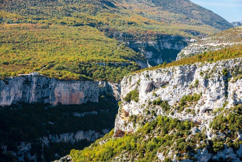 Desfiladeiro du Verdon, Provence, Fran?a imagem de stock royalty free