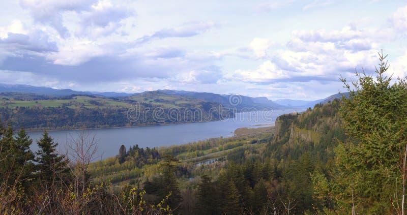 Desfiladeiro Oregon do rio de Colômbia. imagens de stock royalty free