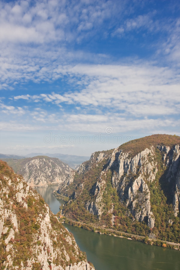 Desfiladeiros de Danúbio fotos de stock