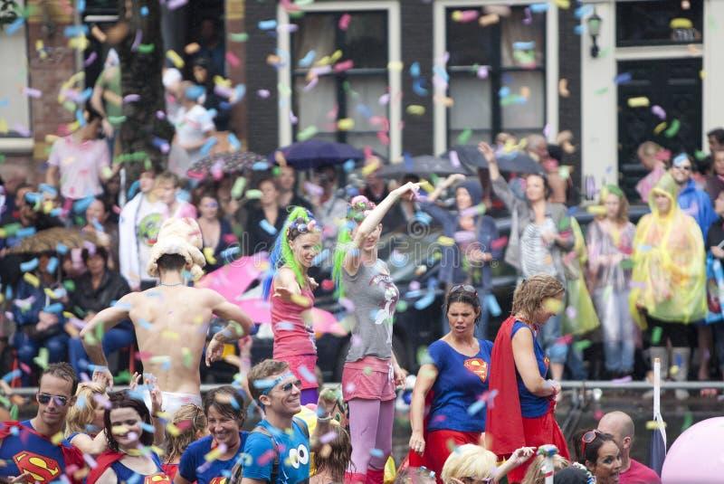 Desfile 2011 del canal de Amsterdam fotos de archivo libres de regalías