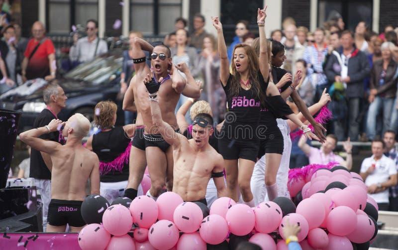 Desfile 2011 del canal de Amsterdam imágenes de archivo libres de regalías