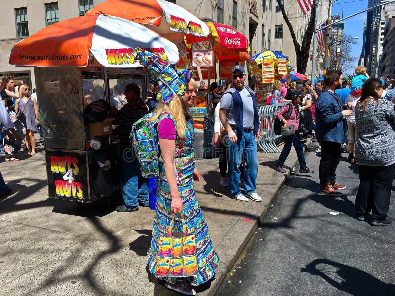 Desfile de Fifth Avenue Pascua en New York City -4 fotografía de archivo
