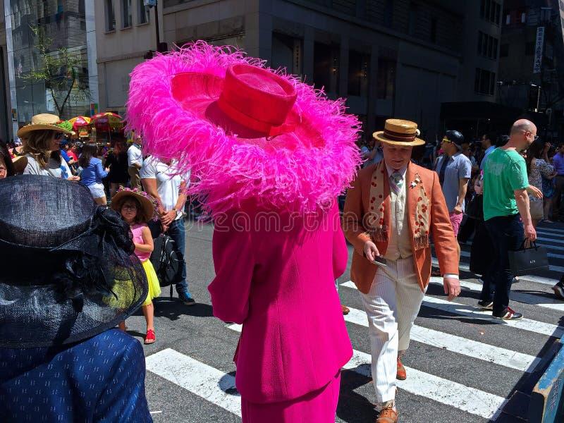 Desfile de Fifth Avenue Pascua en New York City -7 imágenes de archivo libres de regalías