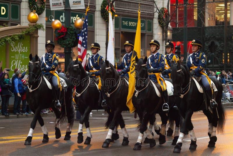 Desfile de la acción de gracias del ` s de McDonald imagenes de archivo