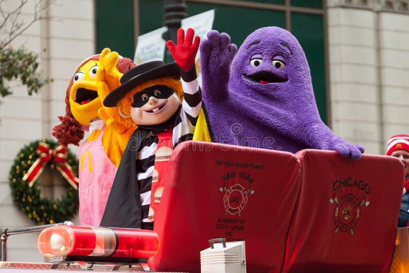 Desfile de la acción de gracias del ` s de McDonald fotos de archivo libres de regalías