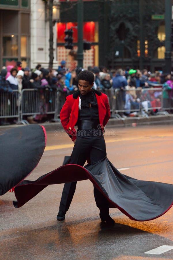 Desfile de la acción de gracias del ` s de McDonald imagen de archivo