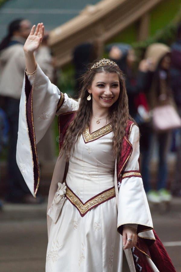Desfile de la acción de gracias del ` s de McDonald fotos de archivo