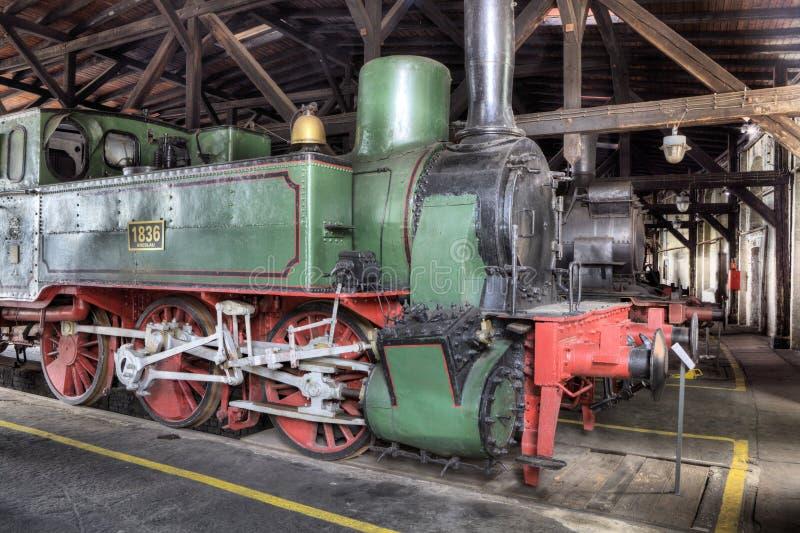 Desfile de las locomotoras de vapor imagen de archivo libre de regalías