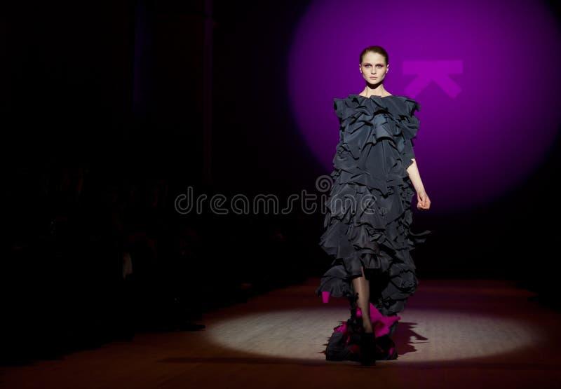 Desfile de moda imagens de stock