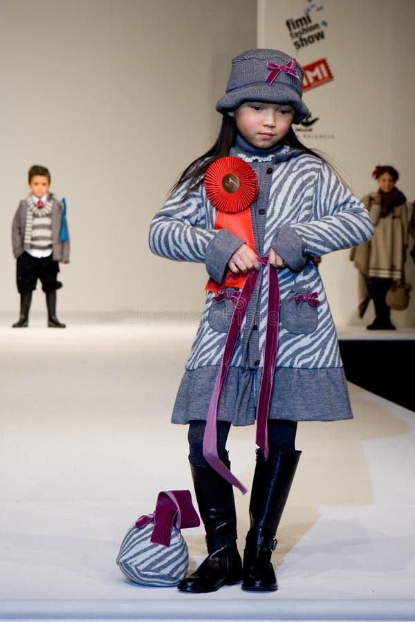 Desfile de moda de FIMI fotografia de stock
