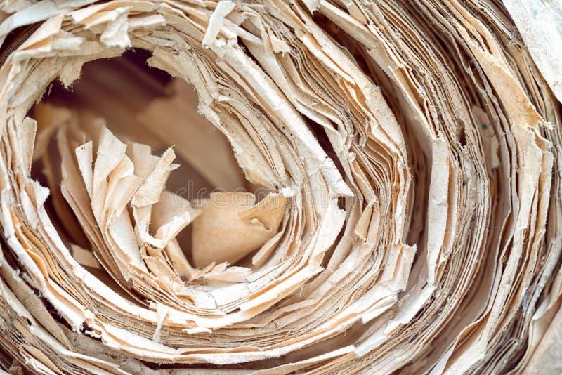 Desfile de papel viejo fotos de archivo libres de regalías