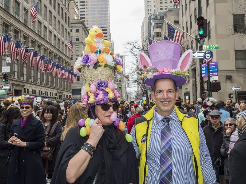 Desfile de Pascua y festival 2018 del capo fotos de archivo