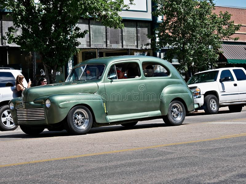 Desfile 2019 de Rocky Mountain Street Rod Nationals fotos de archivo