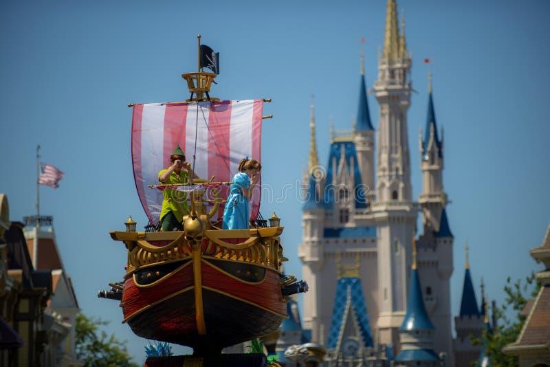 Desfile de Walt Disney World imagen de archivo libre de regalías
