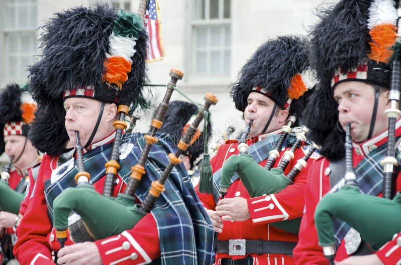 Desfile del día de San Patricio foto de archivo