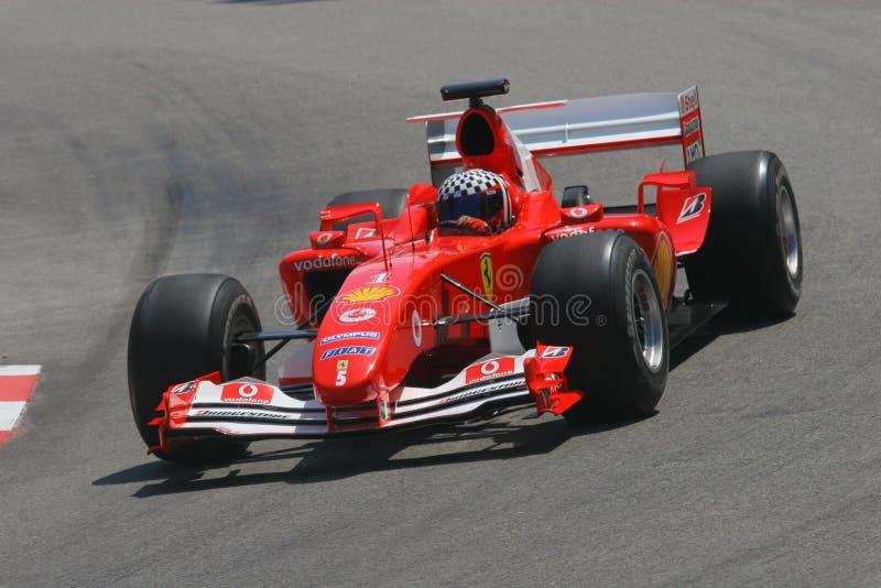 Desfile Ferrari imagenes de archivo