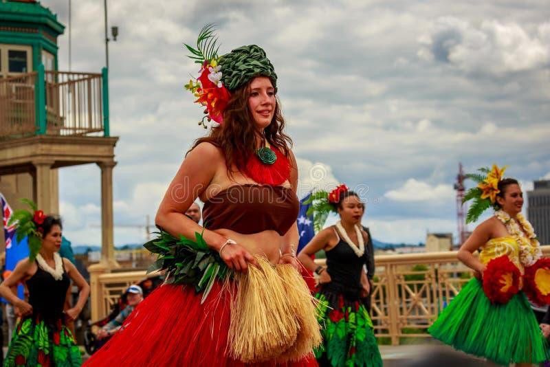 Desfile floral magnífico 2019 de Portland fotos de archivo