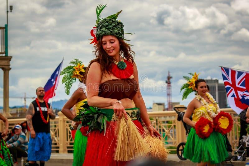 Desfile floral magnífico 2019 de Portland fotos de archivo libres de regalías