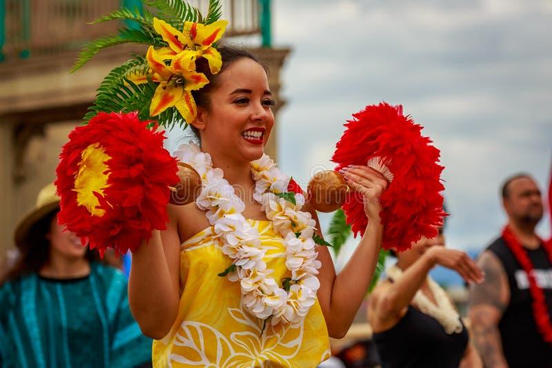 Desfile floral magnífico 2019 de Portland imagenes de archivo