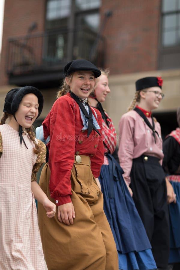 Desfile Holanda 2018 de Muziek fotografía de archivo