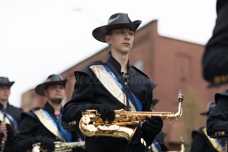 Desfile Holanda 2018 de Muziek foto de archivo