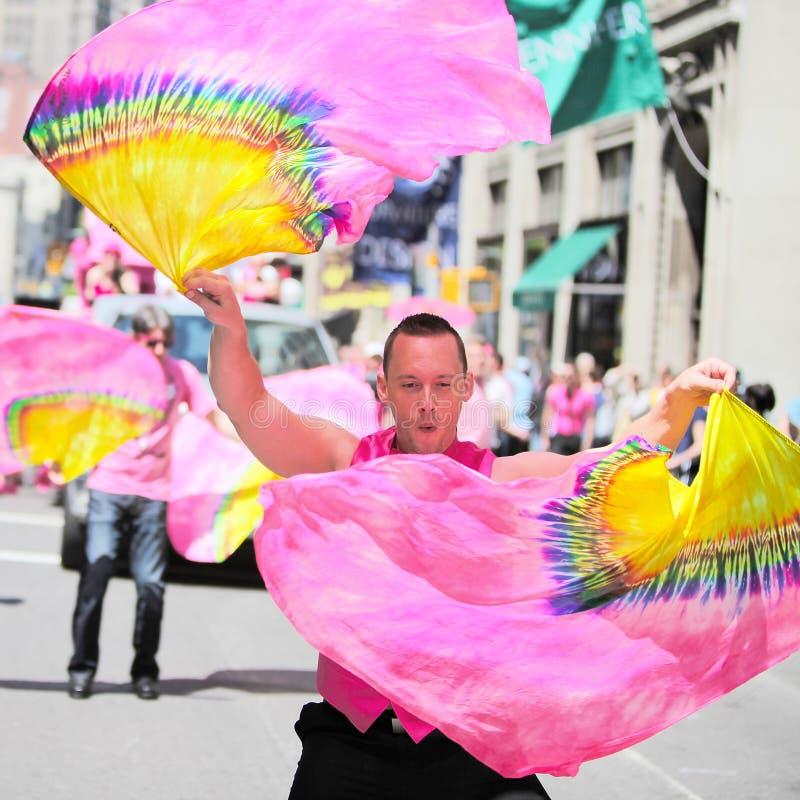 Desfile NYC de la danza foto de archivo