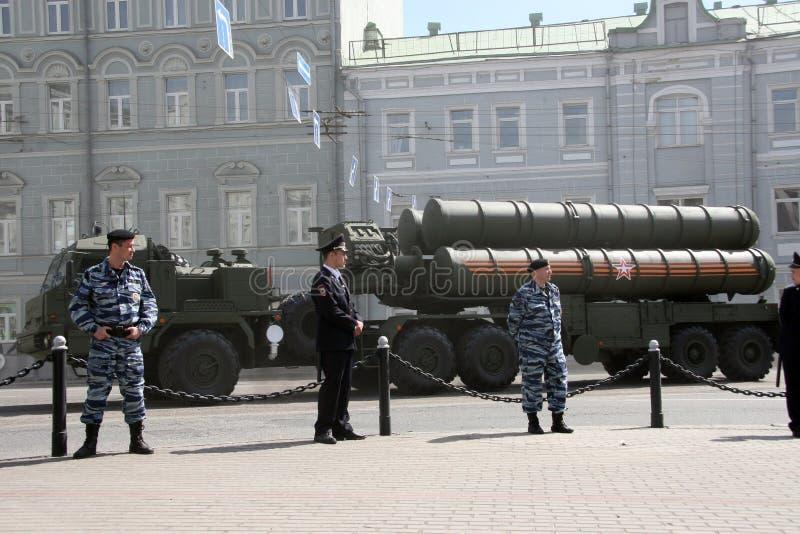Desfile ruso fotografía de archivo