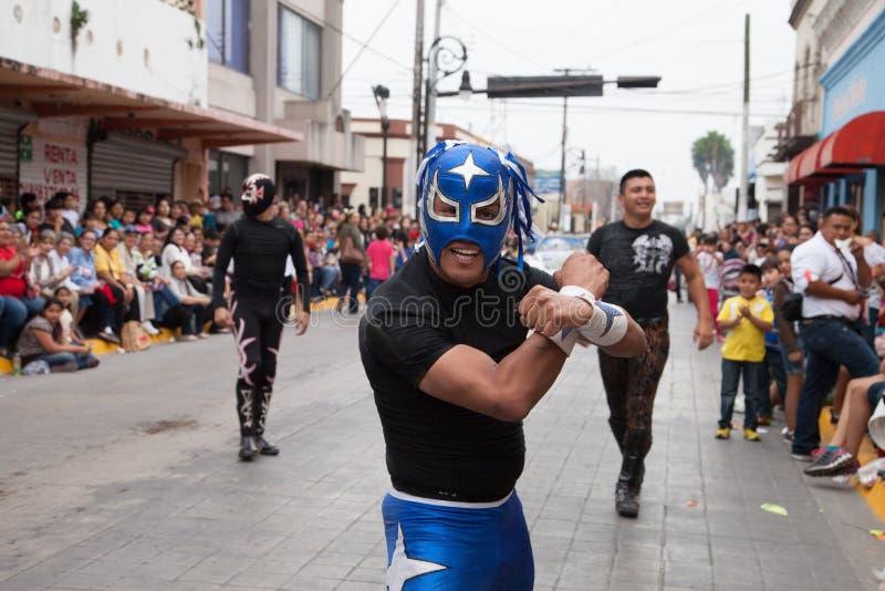 Desfilefiesta's Mexicanas stock foto's