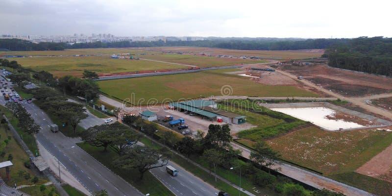 Desflorestamento e urbanisation fotos de stock royalty free
