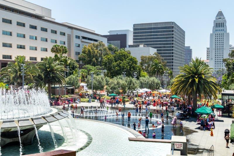 Desgaste Los Angeles justa alaranjada fotos de stock
