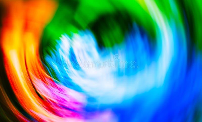 Desi abstrato vazio do borrão da placa colorida vibrante horizontal do vivib imagens de stock royalty free