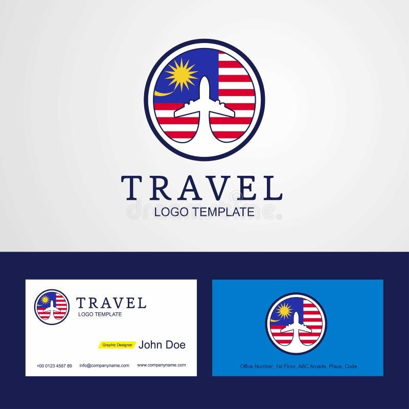 Desi för idérikt cirkel för flagga för loppMalaysia kort för logo och för affär stock illustrationer