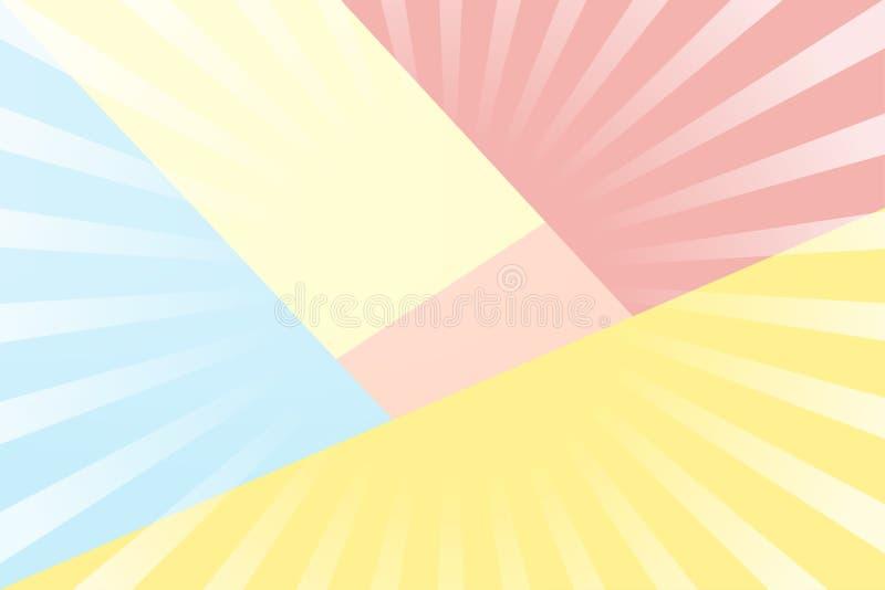 Desi för vektor för bakgrund för lycklig födelsedag för årsdag söt färgrik stock illustrationer