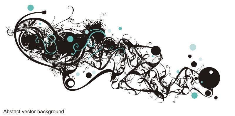 Desi floral y del grunge artístico libre illustration