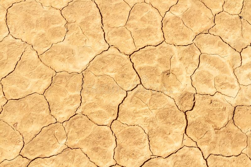 Cracked dry earth texture royalty free stock photo