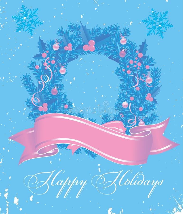Desideri di Natale illustrazione di stock