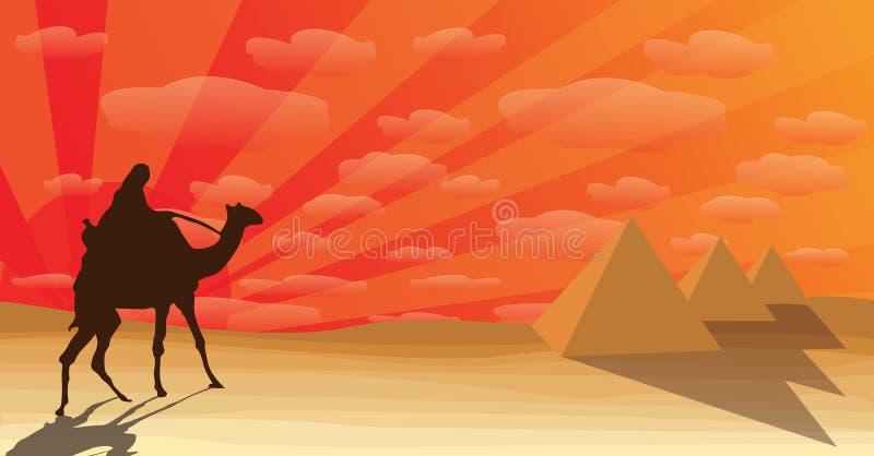 Desierto ilustración del vector