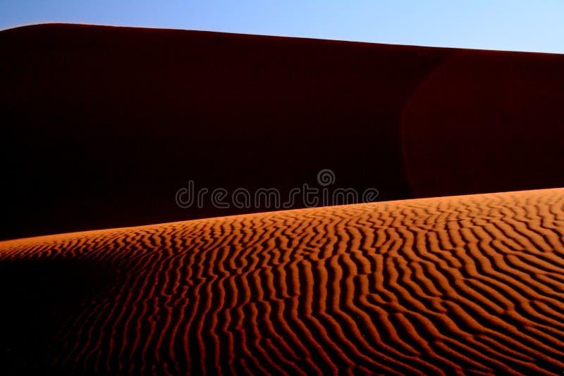 Desierto abstracto imagen de archivo libre de regalías