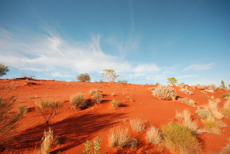 Desierto australiano imagenes de archivo