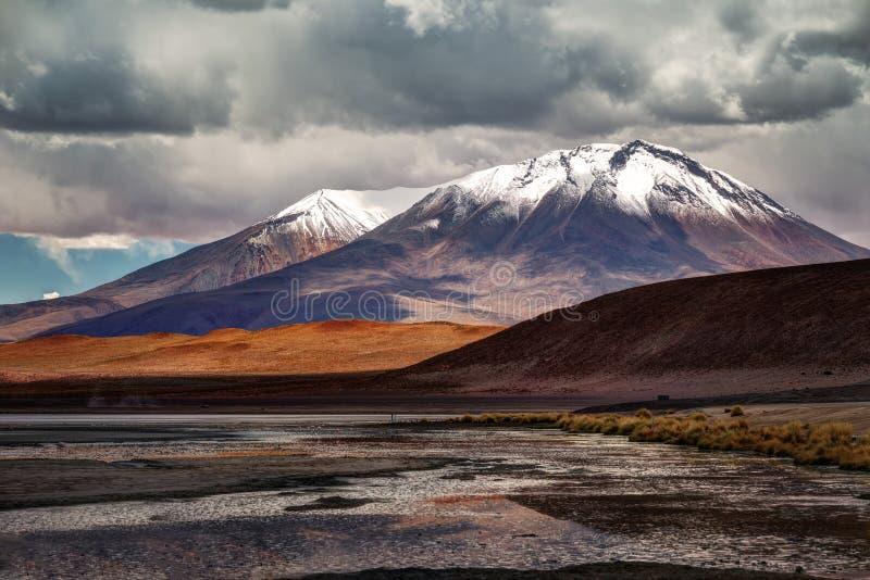 Desierto de Atacama Bolivia foto de archivo libre de regalías