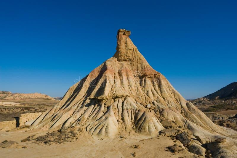 Desierto de Bardenas imagen de archivo libre de regalías