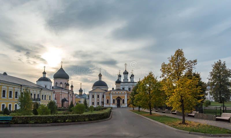 Desierto de David de la ascensión El monasterio de la diócesis de Moscú de la iglesia ortodoxa rusa fotos de archivo libres de regalías