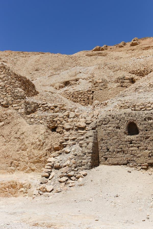 Desierto de Egipto foto de archivo libre de regalías