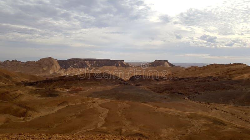 desierto de la naturaleza del paisaje de la tierra de la foto del aire fresco fotografía de archivo libre de regalías