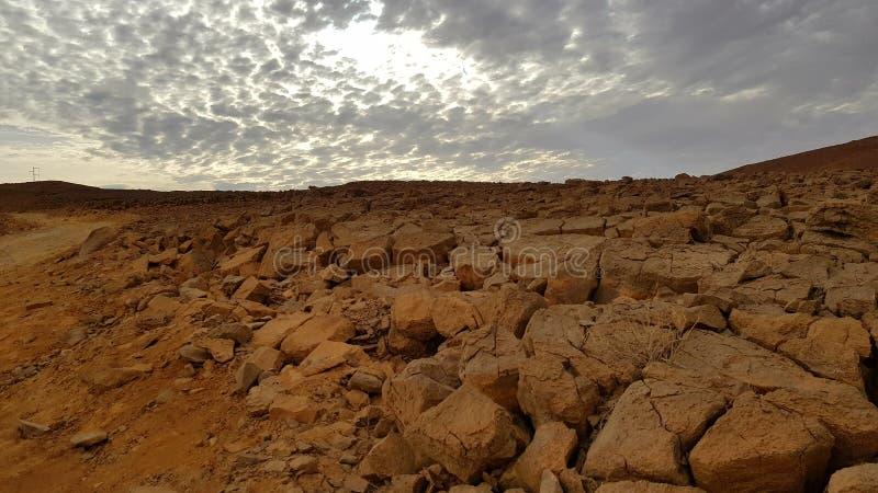 desierto de la naturaleza del paisaje de la tierra de la foto del aire fresco imágenes de archivo libres de regalías