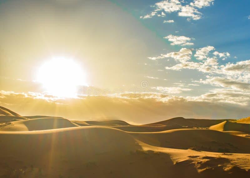Desierto de Merzouga, Marocco imagen de archivo