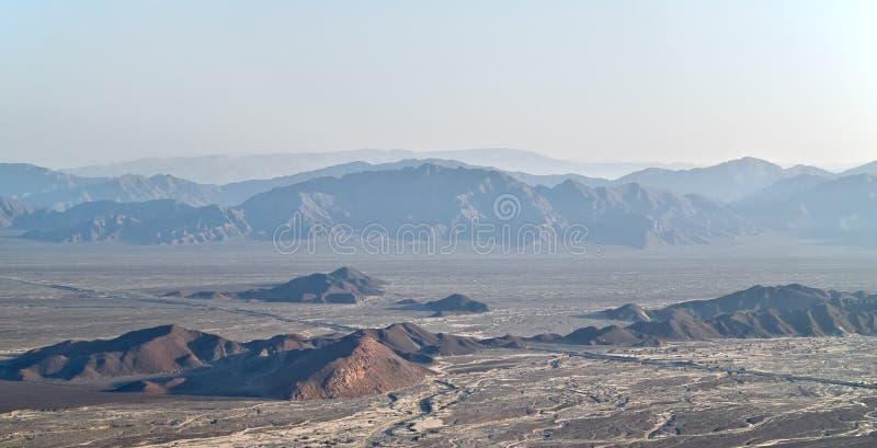 Desierto de Nazca imagen de archivo libre de regalías