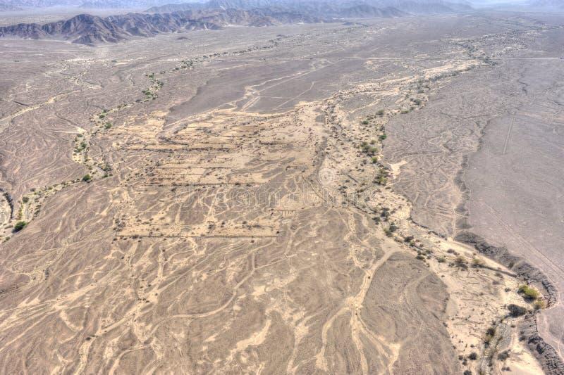 Desierto de Nazca en Perú imagen de archivo libre de regalías