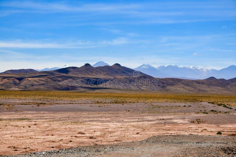 Desierto de San Pedro de Atacama en Chile imágenes de archivo libres de regalías